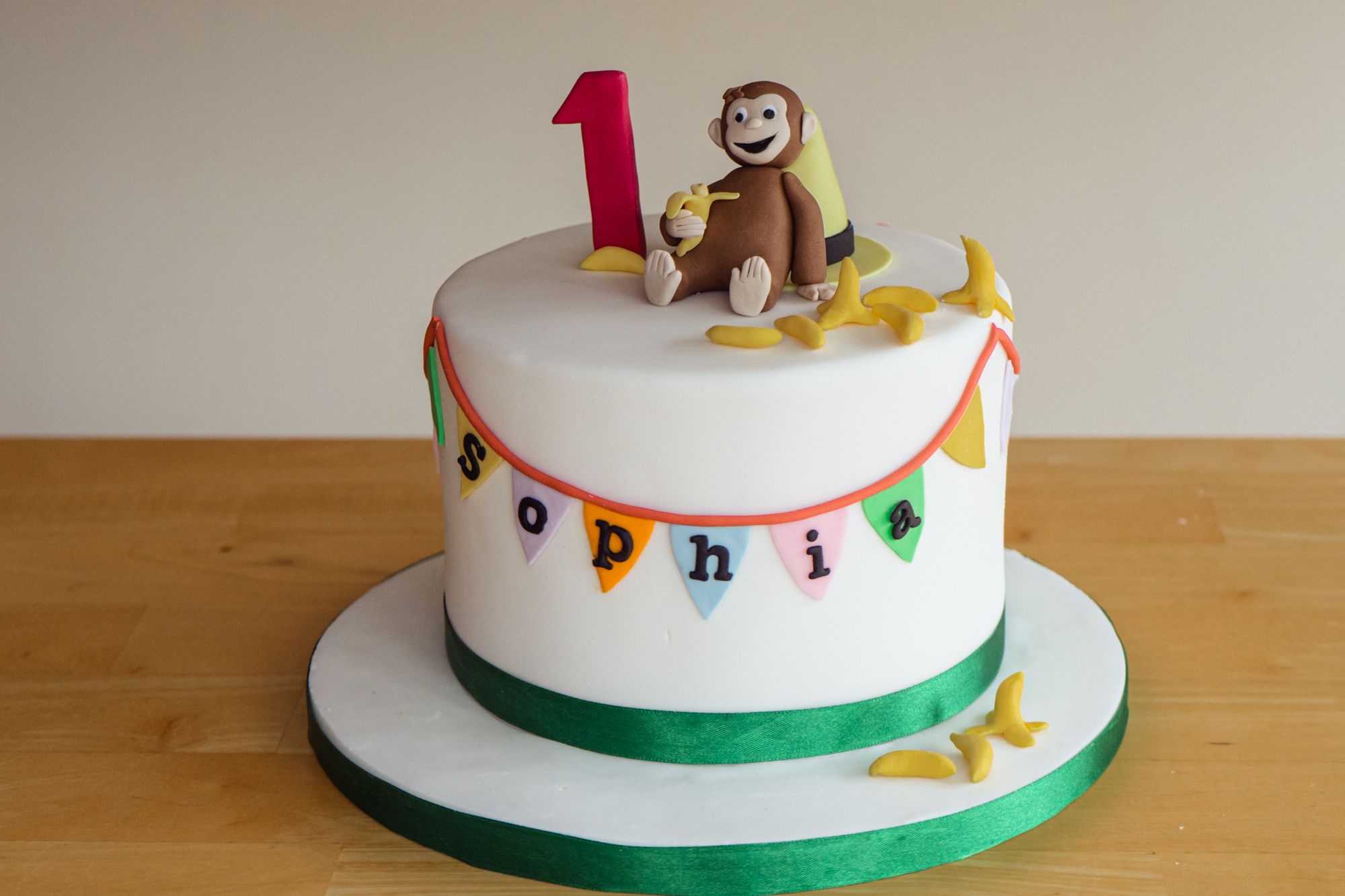 Excellent Curious George Birthday Cake Gabi Bakes Cakes Personalised Birthday Cards Beptaeletsinfo