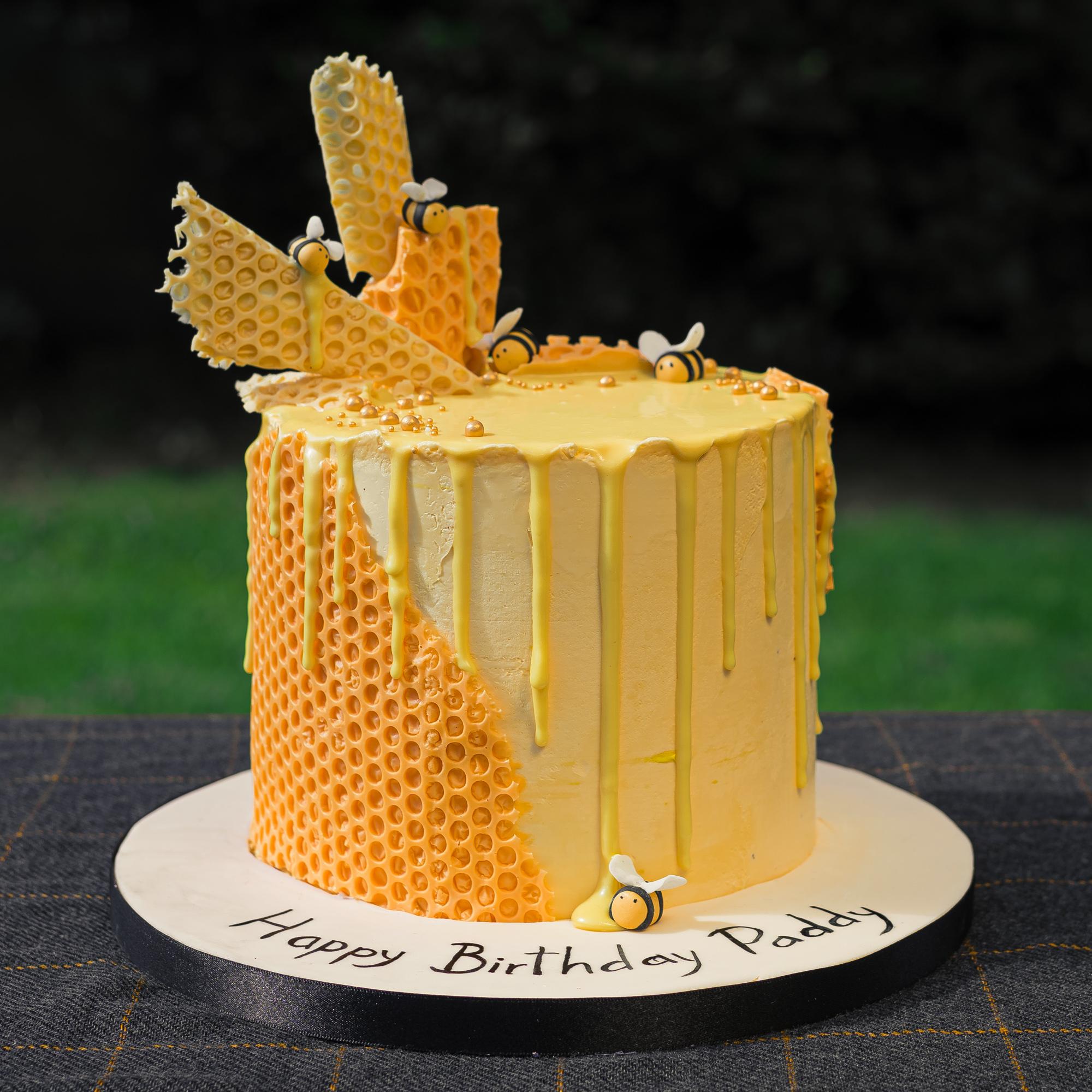 Sensational Honey Bee Birthday Cake Gabi Bakes Cakes Funny Birthday Cards Online Inifofree Goldxyz