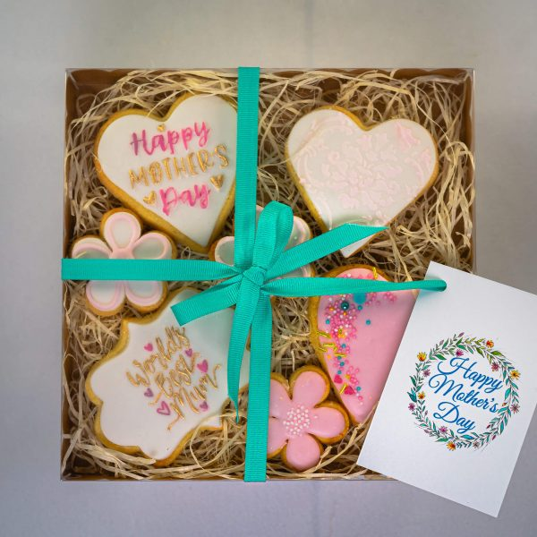Decorated Shortbread Cookies - Decorated Shortbread Cookies (7 in a Box) (postable) - Gabi Bakes Cakes