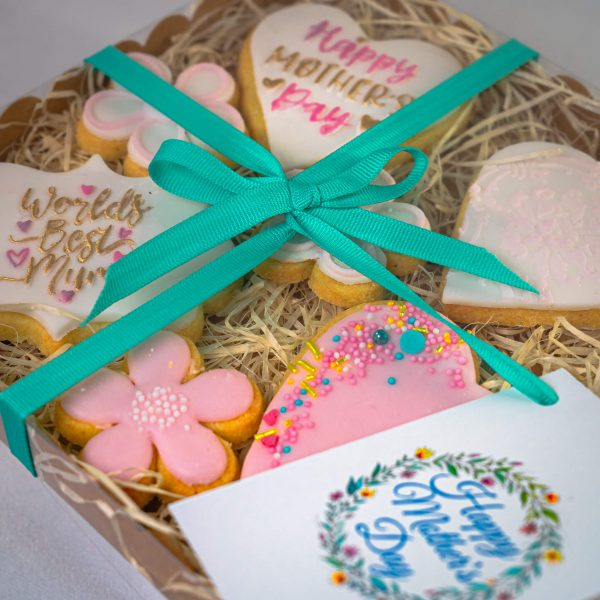 Decorated Shortbread Cookies alt - Decorated Shortbread Cookies (7 in a Box) (postable) - Gabi Bakes Cakes