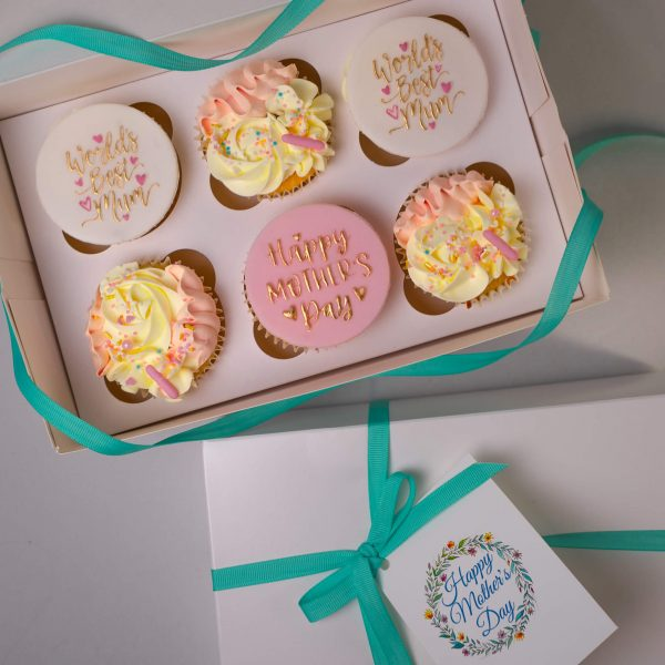 Mothers Day Cupcakes - Mother's Day Cupcakes (Box of 6) - Gabi Bakes Cakes