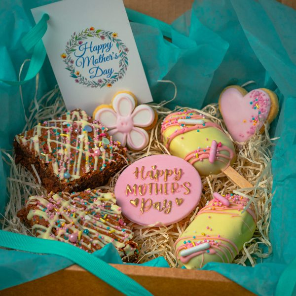 Mothers Day Mixed Treat - Mothers Day Mixed Treat Box: (postable) - Gabi Bakes Cakes