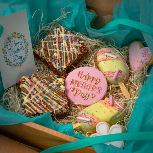 Mothers Day Mixed Treat Box alt - Mothers Day Mixed Treat Box: (postable) - Gabi Bakes Cakes