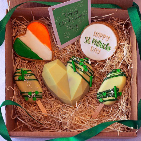 Pot of Gold Mixed Treat - Pot of Gold Mixed Treat Box: (postable) - Gabi Bakes Cakes