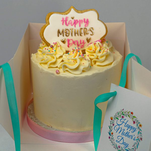 "mini 5inch round mothers day cake - Mini 5"" Round Mother's Day Cake (Serves 4-6) - Gabi Bakes Cakes"